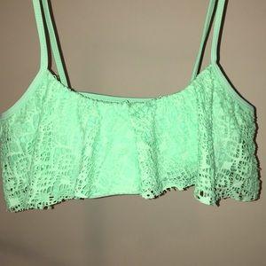 Seafoam green bikini top!